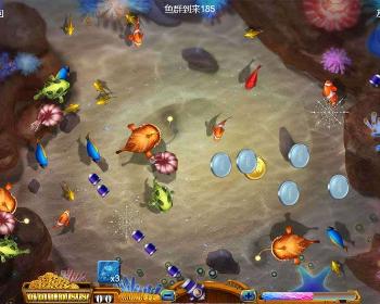 最新HTML5捕鱼小游戏
